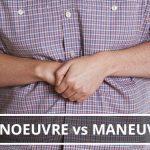 Q&A: Manoeuvre vs maneuver