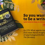 Ep 279 Meet Renee Knight, author of psychological thriller 'The Secretary'