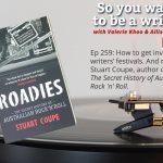 Ep 259 Meet Stuart Coupe, author of 'Roadies: The Secret History of Australian Rock 'n' Roll'
