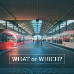 Q&A: What or which?