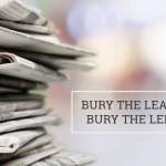 "Q&A: ""Bury the lead"" or ""bury the lede"""