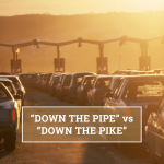 """Q&A: """"Down the pipe"""" vs """"down the pike"""""""